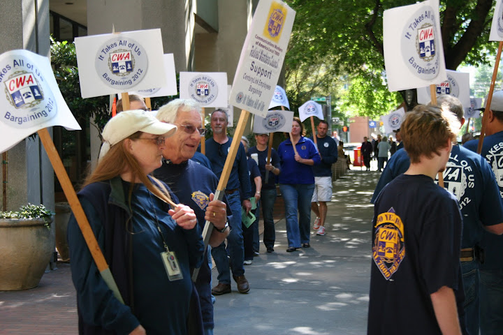 Legacy Qwest Bargaining Rally
